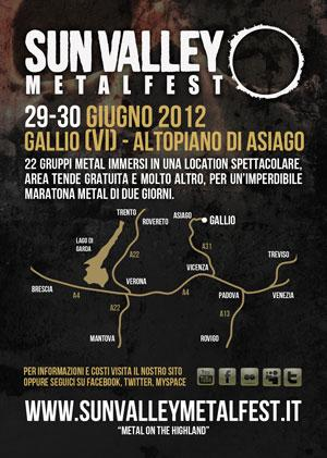 Sun Valley Metalfest Gallio 29-30 Giugno 2012 Altopiano di Asiago