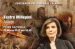 """ADELE PERGHER-PROFUGA"", Teatro Millepini di Asiago, 20 marzo 2015,"
