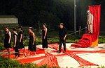 Geschichten aus dem Jahr 1000, theatralische Abend im Treschè Becken, Asiago Hochebene