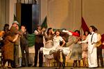 "Wächter If, Drama Abend Nase Canove mit ""Teatro dei Pazzi""-Plateau"