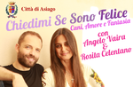 """Zeigen """"Chiedimi Se Sono Felice: Hund, Liebe und Träume"""" mit ROSITA CELENTANO und Asiago-23 August 2018 Engel VAIRA"""