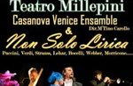 Neujahrs Konzert mit Orchester Casanova Venice Ensemble und nicht nur Oper, Asiago, 3. Januar 2017