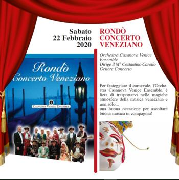 concerto rondo veneziano ad asiago