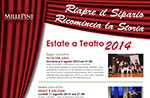 Sommertheater am TEATRO di Asiago, 2014 Millepini 3-August 21