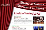 Rassegna Teatrale ESTATE A TEATRO 2014 Millepini di Asiago, 3-21 agosto