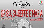 "Spettacolo ""Grisù, Giuseppe e Maria"", Compagnia La Moscheta, Asiago, 12 gen 2016"
