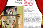 "Show ""MY PLAY IN BANCA AND NOT MORE"" im Millepini Theater in Asiago - 1. Februar 2020"