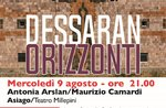 "Show ""DESSARAN-Horizonte"" für Estate Opernfestival in Asiago-9 August 2017"