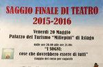 """Spettacolo teatrale """"Lisabetta da Messina"""", Asiago, 20 maggio 2016"""