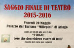 "Das Theaterstück ""Lisabetta da Messina"", Asiago, 20. Mai 2016"