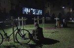 """""""Stacheldraht""""-Theateraufführung am Kriegerdenkmal in Asiago-5 August 2017"""