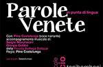 Teatro PAROLE VENETE IN PUNTA DI LINGUA con e di P. Costalunga, Rotzo 27 luglio