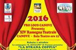 XIVª Rassegna Teatrale a Canove, ottobre 2016 - Altopiano di Asiago