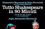 """""""Tutto Shakespeare in 90 minuti """", con Alessandro Benvenuti e Nino Formicola"""