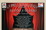 """Herbstsaison-Einladung zum Theater, Conco, """"Don Italo Garcia"""""""