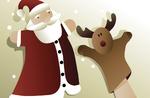 """Spielbereich für Kinder """"Santa Claus"""" Gallium-24 Dezember 2017"""