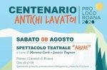 Centenario degli antichi lavatoi di Roana - 8 agosto 2020