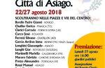 36 º internationalen Wettbewerb von Holzschnitzereien in Asiago-vom 22. bis 27. Januar 2018