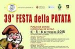 39ª Festa della Patata di Rotzo 2015, Altopiano di Asiago 4-6 Settembre 2015