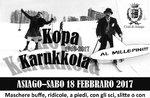 KOPA KARUKKOLA, tradizionale sfilata di Carnevale ad Asiago, 18 febbraio 2017