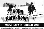 KOPA KARUKKOLA traditionellen Karneval im Schnee in Asiago-17. Februar 2018