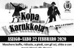 KOPA KARUKKOLA - Traditionelles Karnevalsrennen im Schnee in Asiago - 22. Februar 2020