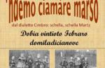 """NDEMO CIAMARE MARSUS-traditionelle Vorfrühling in Lusiana bis 28. Februar 2019"