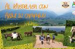 Al Kaberlaba mit Eseln auf dem Weg - Wanderung someggiato