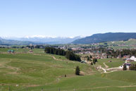 Panorama of the Plateau of Asiago and 7 Municipalities
