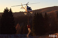 28.12.2015 Andrea Cason Helikopter Wasser Feuer Asiago