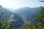 panorama dal monte cornone su fiume brenta thumb 250