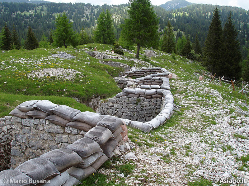 Image result for monte zebio trenches