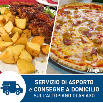 Openings with home deliveries and takeaway service on the Asiago Plateau due to Coronavirus emergency