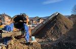Lavori di costruzione del parcheggio interrato Millepini: bonifica da amianto