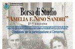 Borsa di studio Amelia e Nino Sandri  21^ edizione