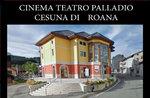 Eröffnung des Cinema Teatro Palladium von Cesuna di Roana, Hochebene von Asiago