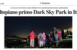 The Plateau first Dark Sky Park in Italy?