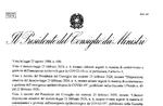 CORONAVIRUS - Il nuovo decreto del Presidente del Consiglio dei Ministri dell