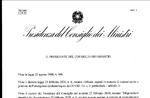 CORONAVIRUS - Das neue Dekret des Präsidenten des Ministerrats vom 4. März 2020
