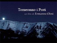 Im Gegenzug schoss die Rasenflächen, Ermanno Olmis Film auf dem plateau