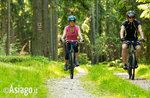 E-Bike: Radfahren auf der Hochebene von Asiago, selbst wenn Sie kein Athlet