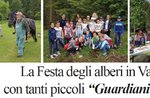"""La """"Festa degli alberi"""" in Val di Nos con tanti piccoli """"Guardiani del bosco"""""""