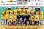 Lupe-St.-Martins Basketball Euroleague aus 25, 28. August 2016 auf dem Rückzug nach Asiago