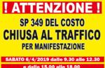 Straßensperrungen für 28 Stunden ^ Besteigung des 2019 Gebühr | 6. / 7. April 2019