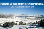 Prävention Coronavirus auf dem Asiago Plateau: eine Verantwortung aller