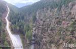 Schlechtes Wetter auf der Hochebene von Asiago: Tausende umgestürzte Bäume, schwere Schäden an Stromleitungen