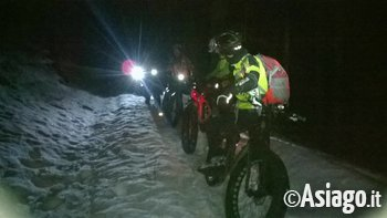 Fat Bike By night