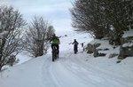 Schnee, Schnee und Fat Bike