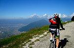 """Hergestellt im Mountainbikesport Hütte """"Giro Delle Almen"""""""