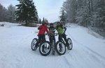 Fetten Bike Night auf die verschneiten Trails des Monte Corno